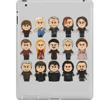 Game of Thrones - A Game of Thrones - GOT - All Characters Chibi - Manga Game of Thrones iPad Case/Skin