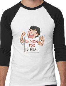 Demon pox is real Men's Baseball ¾ T-Shirt