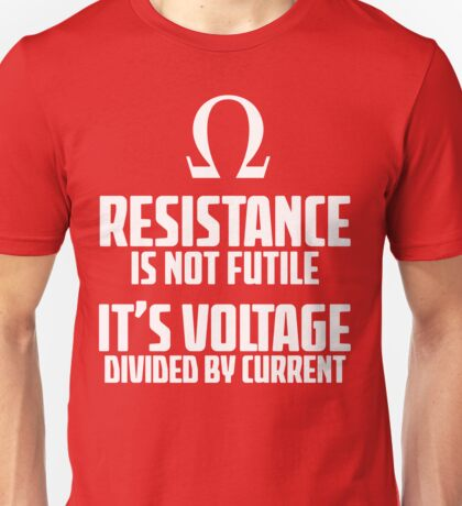 Funny Electrician - Physics T Shirt Unisex T-Shirt