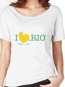 ILOVE.RIO #001 YELLOW/GREEN/BLUE Women's Relaxed Fit T-Shirt