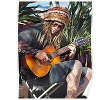 Dylan Busking Poster