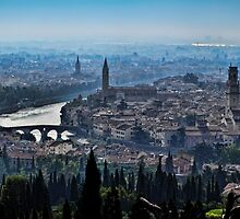 Dawn Over Verona by Colin Metcalf