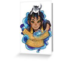 High warlock of brooklyn Greeting Card