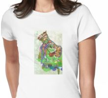 Piper Bunny Womens Fitted T-Shirt