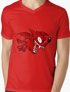 EYESHIEDL 21 - DEVIL BATS LOGO Mens V-Neck T-Shirt