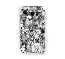 christmas dogs Samsung Galaxy Case/Skin