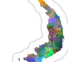 Vietnam in watercolor Sticker