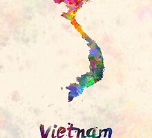 Vietnam in watercolor by paulrommer