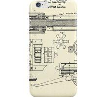 Machine Gun-1862 iPhone Case/Skin