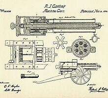 Machine Gun-1862 by paulrommer