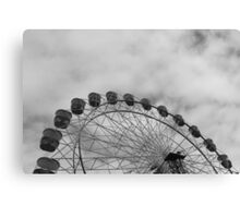 Metal Wheel Canvas Print
