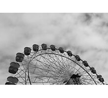 Metal Wheel Photographic Print