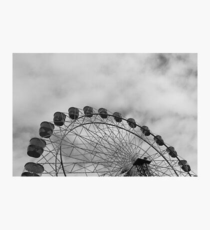 Metal Wheel Photographic Print