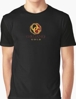 Organo Gold Logo Full Graphic T-Shirt