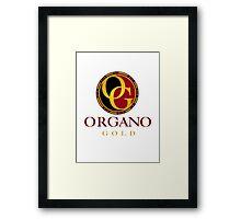 Organo Gold Logo Full Framed Print