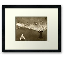 End of the dream Framed Print