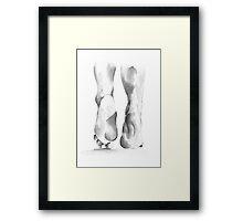 Feet Framed Print