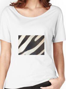 Zebra Stripes Women's Relaxed Fit T-Shirt
