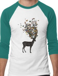 Wild Nature Men's Baseball ¾ T-Shirt