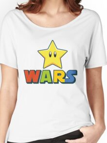 Mario Star Wars Women's Relaxed Fit T-Shirt