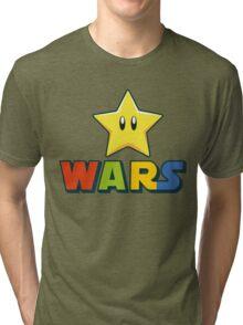 Mario Star Wars Tri-blend T-Shirt