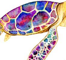 Water Colour Sea Turtle Sticker