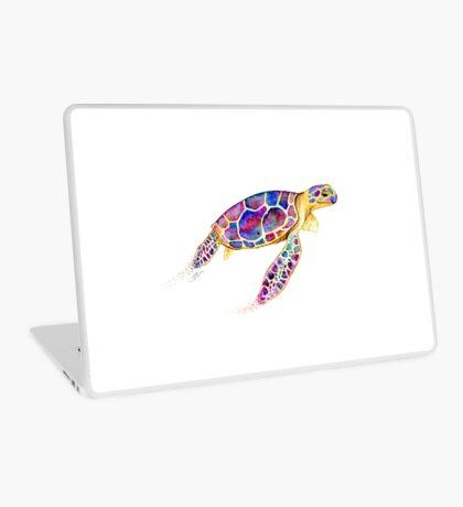 Water Colour Sea Turtle Laptop Skin