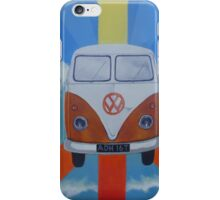 Groovy VW on Peace symbol iPhone Case/Skin
