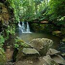 Goitstock Falls - Yorkshire by eddiej