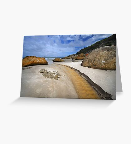 Squeaky Beach - Wilsons Prom Greeting Card
