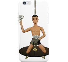Pole Dancing Chippendale! iPhone Case/Skin