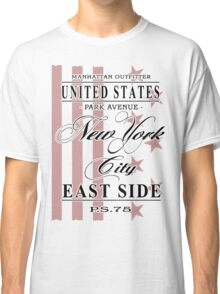 New York City - USA Vintage Flag Classic T-Shirt