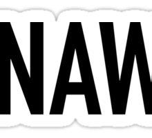 Runaway Sticker