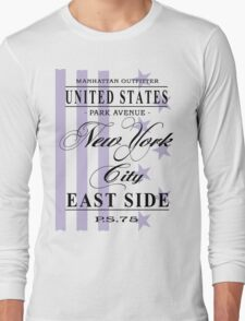 New York City - USA Vintage Flag Long Sleeve T-Shirt