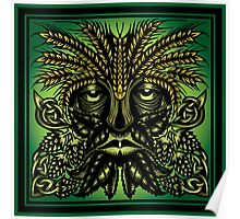 The Hop & Barley Green Man Poster