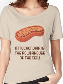Mitochondria is the Powerhouse of the Cell - V2! Women's Relaxed Fit T-Shirt