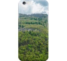 Clouds over the mountains  iPhone Case/Skin