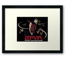 2PM South Korean idol group Framed Print