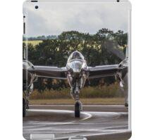 Silver P-38 Lightning iPad Case/Skin
