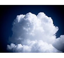 A Whipped Cream Cloud floating Photographic Print
