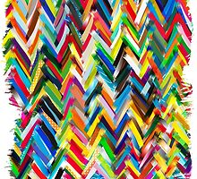 colorfull chevrons by frederic levy-hadida