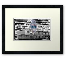Route 66 - Apache Motel Framed Print