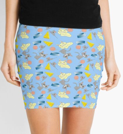 Cats And Mice Mini Skirt