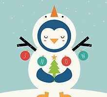 Snow Penguin by AndyWestface