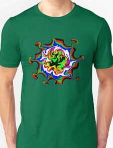 Dizzy Swirly Fractal Abstract T-Shirt