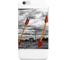Route 66 - Twin Arrows - Selective Color iPhone Case/Skin