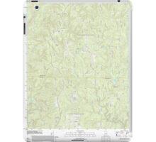 USGS TOPO Map Alabama AL Grayson 20111013 TM iPad Case/Skin