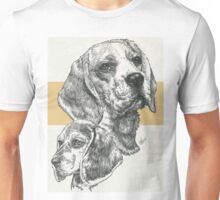 Beagle, Father & Son  Unisex T-Shirt