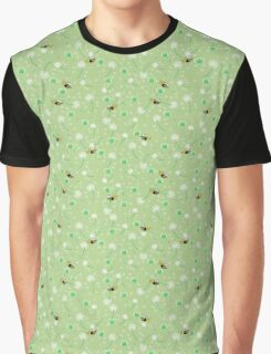 Honey Bees Flying Graphic T-Shirt