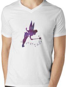 Tinkerbell Mens V-Neck T-Shirt